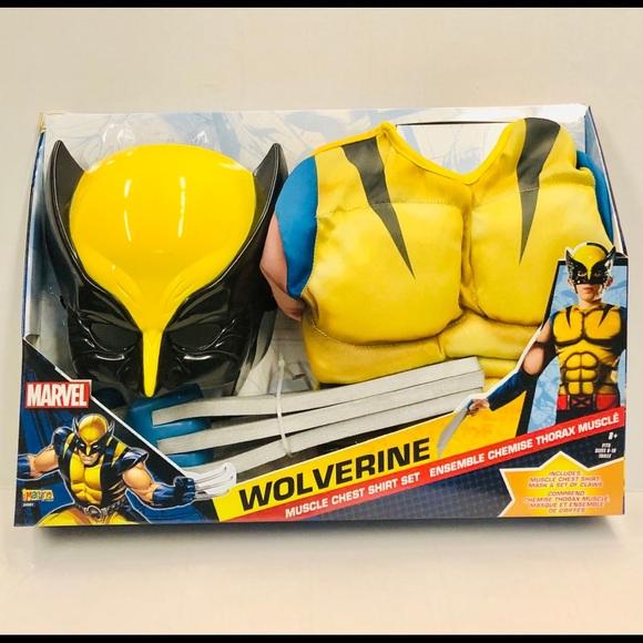 Wolverine muscle chest shirt set size medium 8-10